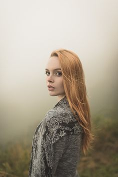 Natural outdoor portraits with megan bea tiernan in mist, fog forest in killiney hill  0003