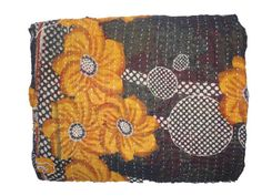 Hey, I found this really awesome Etsy listing at https://www.etsy.com/listing/196743105/vintage-throw-kantha-quilt-alias-ralli