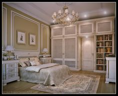 Luxurious Bedroom Design with Luxurios Bunk Bed and White Smooth ...