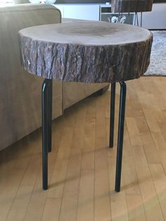 Stump Table With Metal Legs Root Coffee Tables Root Tables Log Furniture