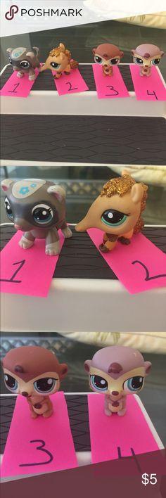 Littlest Pet Shop- $5.00 each Littlest Pet Shop- $5.00 each Littlest Pet Shop Accessories