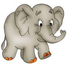 Cartoon Elephants | Baby Elephant Page 2 - Cute Cartoon Elephant Clip Art