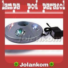 Lampa LED pod parasol ogrodowy  Zapraszamy do naszego sklepu Prodekol www.Prodekol.sklepna5.pl  #lampa #led #parasol #slonce #ogród #sklep #skleponline #wysyłka #wysylkagratis #gratis #promocja #prodekol #firmajolankom (w: Sklep online ProdEkol dla domu i ogrodu oraz 1001 drobiazgów)