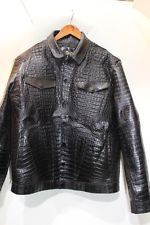 Crocodile custom jacket  size L -6XL    Crocodile jacket  men212-239-4009  order