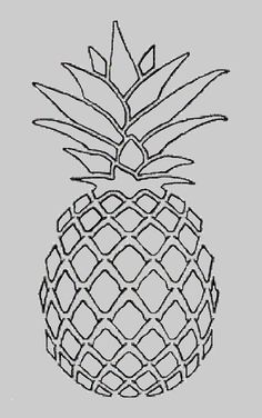1000+ ideas about Pineapple Drawing on Pinterest Pattern Background Pencil Drawings Tumblr and Pineapple A Pineapple drawing Line art drawings Pineapple art