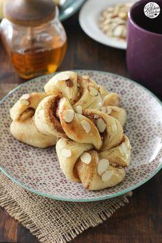 Honey Almond Cinnamon Twists l www.a-kitchen-addiction.com