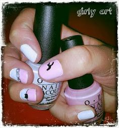 Nail Art My Nails Think In Pink