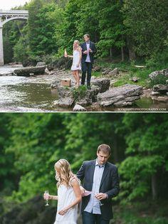 Elora Engagement Photographers | Manifesto Wedding Photography | Elora Gorge | Windsor | London | Kitchener | Waterloo | Ottawa #eloragorge #wedding #photography #pinklemonaide