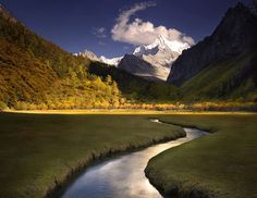 Yading National Park, Sichuan, China.