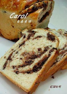 Carol 自在生活  : 紅豆吐司