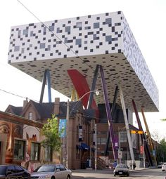 Notable buildings on stilts - A Weekly Dose of Architecture » Sharp Centre for Design