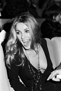Sharon Tate at the premiere of Rosemary's Baby in Paris, 1968.