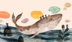Adolfo Serra on Behance Illustration Example, Illustration Courses, Children's Book Illustration, Watercolor Illustration, Watercolor Art, Illustration Children, Freelance Illustrator, Madrid, Drawings