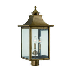 Buy the Acclaim Lighting Aged Brass Direct. Shop for the Acclaim Lighting Aged Brass St. Charles 3 Light Outdoor Post Light and save. Outdoor Post Light Fixtures, Outdoor Post Lights, Outdoor Lighting, Outdoor Decor, Exterior Lighting, Home Lighting, Lamp Post Lights, Lantern Post, Wall Lantern