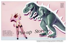pin-up story: jenny by marc philbert for grazia france 22nd february 2013 | visual optimism; fashion editorials, shows, campaigns & more!
