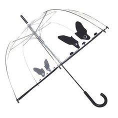 Transparent 88 cm Parapluie Canne Cloche Smiley World Le Monde du Parapluie Paris
