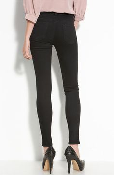 i think i am in love!!! // J Brand Skinny Stretch Jeans (Hewson Wash) available at #Nordstrom