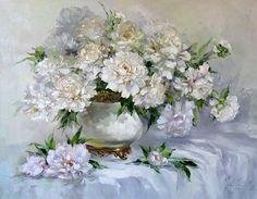 Мобильный LiveInternet Люблю цветущие пионы... Художница Оксана Кравченко | луида - Дневничок для моих друзей и гостей . |