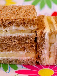 Banana Cream Cheese Sammie | Weelicious