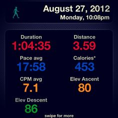 This was my best walk/jog/run so far! Week 2 is my 3+ mile week! And it started out with a bang!! (picture by Ben Hannon and edited by Ben Hannon)