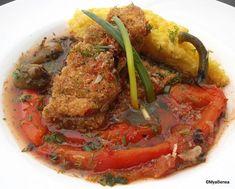 saramura de crap reteta veche Romanian Food, Meatloaf, Seafood, Food And Drink, Sweets, Beef, Dishes, Cooking, Lemon