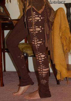 Pandora Pants   brown by ElvenForest on Etsy, $64.00