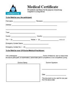 Medical Certificate Template Like A Gift Card That Will Help You If You Are Going To Get Some .