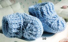 Free Crochet Baby Shoes Patterns | Baby & Children Patterns Crocheting & Knitting Needlecrafts & Yarn ...