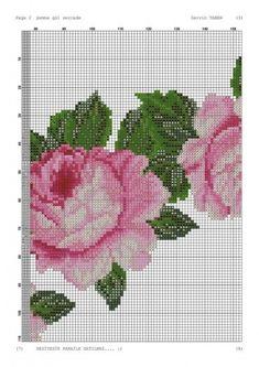 Cross Stitch Rose, Cross Stitch Flowers, Pixel Pattern, Prayer Rug, Counted Cross Stitch Patterns, Cross Stitching, Blackwork, Needlepoint, Canvas