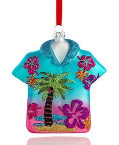 Holiday Lane Christmas Ornament, Hawaiian Shirt