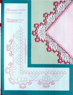 Мини-журнал: Croche - Barrados com Cantos 2006,2008 - Вяжем сети, спицы и крючок - ТВОРЧЕСТВО РУК - Каталог статей - ЛИНИИ ЖИЗНИ