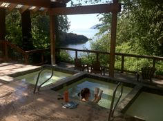 Now this is a hot tub.  Doe Bay Village, Orcas Island