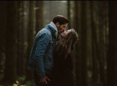 kyss i skogen