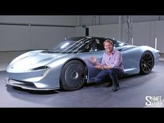 Let's take a first look and walkaround of the brand new McLAREN SPEEDTAIL! It's one of the most anticipated cars of recent times, not only as it's the fastes. Mclaren Sports Car, New Mclaren, Mclaren Cars, Electric Skateboard, Mc Laren, Super Cars, Classic Cars, Trucks, Brand New