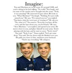omg my heart melted I love them both so much could this happen to me and either of them