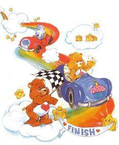 Care Bears: Grumpy, Tenderheart & Birthday Bear Racing