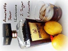 Amaretto Sour Drink Recipe - Yum!