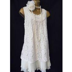 Vintage DressEvening Party Lace Appliques