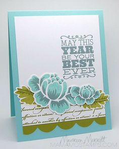 Mama Mo Stamps: CASE Study DT Search Challenge - use sketch with stippled blossoms