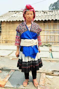 Dao San, Vietnam; Lo Lo people