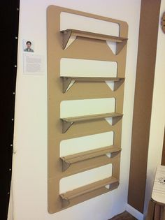 shelves from one piece of cardboard!