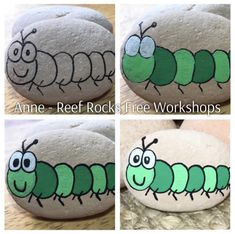 Stone Art Painting, Pebble Painting, Dot Painting, Pebble Art, Painted Rock Animals, Painted Rocks Craft, Hand Painted Rocks, Rock Painting Patterns, Rock Painting Ideas Easy