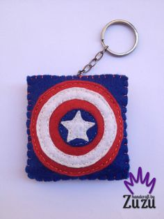 -Captain America- İsteğe göre her renk yapılır! Can make any color by request! (7cmx6.5cm)