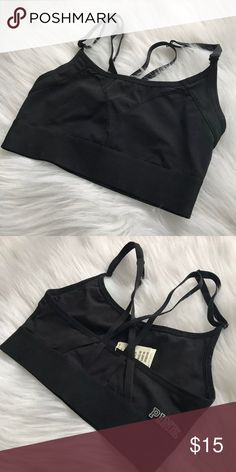 Victoria's Secret PINK Black Sports Bralette ✅ NWT Victoria's Secret PINK   ‼️ Bundle & save   ⭐️ Mostly NWT VS items in my closet!   Same or next day shipping   Please consider the fees   Smoke free household    No holds   No trades     Happy shopping! PINK Victoria's Secret Intimates & Sleepwear Bras