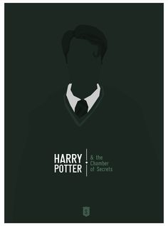 Harry Potter and the Chamber of Secrets (2002) ~ Minimal Movie Poster by Hexagonall ~ Harry Potter Series
