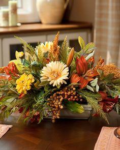 Silk Flower Centerpieces, Silk Floral Arrangements, Beautiful Flower Arrangements, Table Flowers, Beautiful Flowers, Centerpiece Wedding, Day Lilies, Zinnias, Silk Flowers
