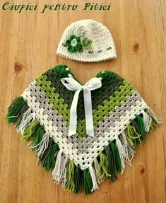 granny square kids poncho crochet pattern green poncho with fringes lively colour scheme crocheting journal - PIPicStats green poncho with fringes. A pin image only, no link to pattern or website (crochet square patterns colour) Tina's handicraft : 65 di Crochet Baby Poncho, Crochet Poncho Patterns, Crochet Baby Clothes, Crochet Shawl, Knit Crochet, Crochet Granny, Crochet For Kids, Free Crochet, Kids Poncho Pattern