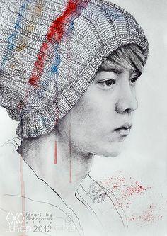 luhan fanart 2012 by Gaborovna #luhan #exo #kpop #exom