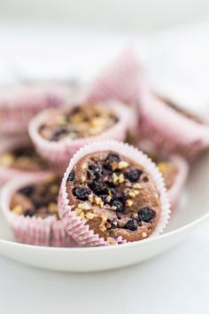 Tvarohové muffiny s čučoriedkami