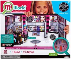 MiWorld Powder Puff Makeup Store Playset on sale at ToyWiz.com